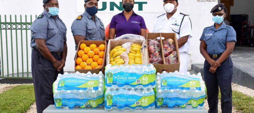 RBDF Harbour Patrol Unit donates to Lupus242