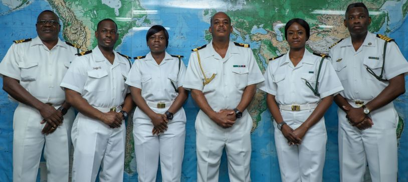 RBDF Officers Complete Overseas Course