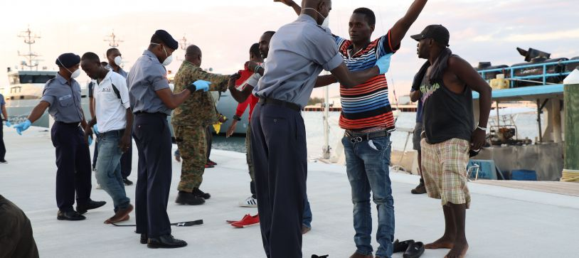 RBDF Apprehends Undocumented Migrants in Exuma Chain