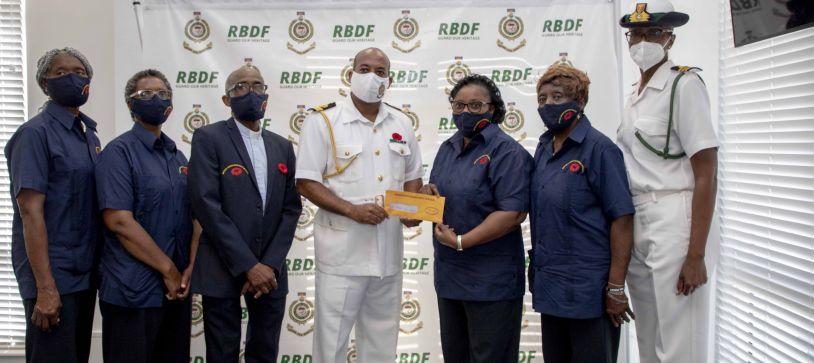 British Legion-Bahamas Branch pays Courtesy Call on CDF