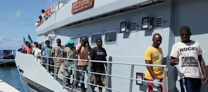 Haitian Migrants apprehended in Long Island