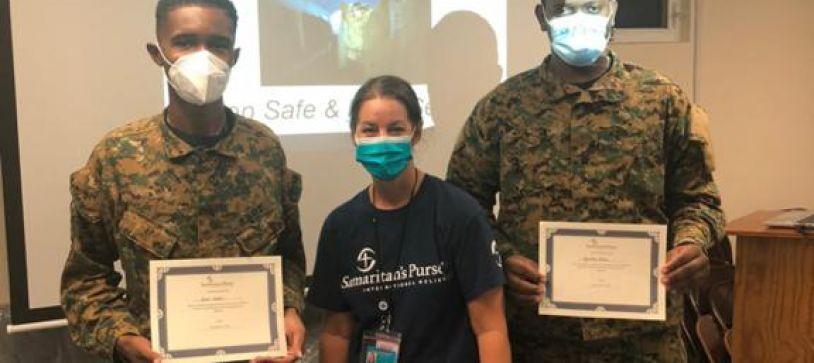 RBDF Personnel Complete COVID-19 Training