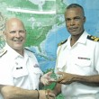 Canadian Rear Admiral visits Commander Defence Force