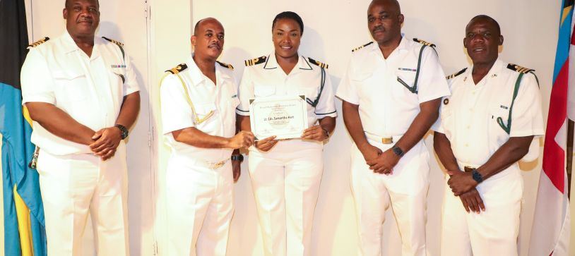 RBDF Commanding Officers presented with Appointments for Command posts
