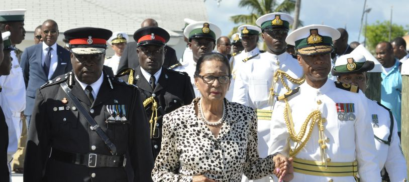 RBDF Observes 39th Anniversary of Sinking of HMBS FLAMINGO