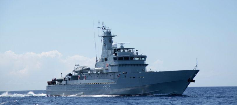 RBDF Vessel Sustains Damage