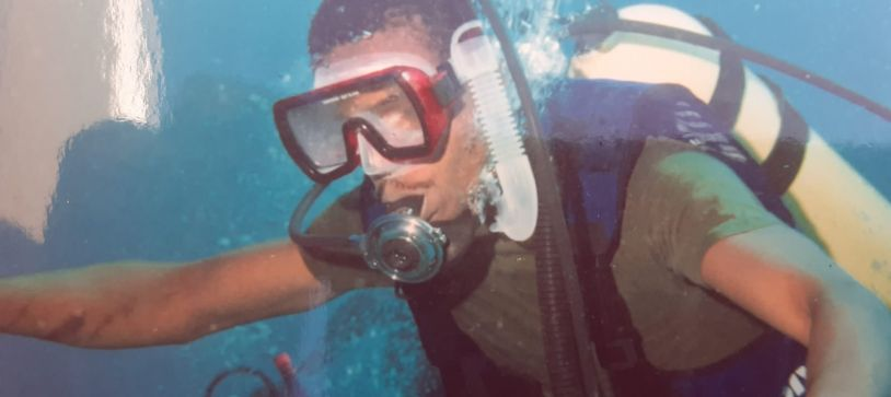 Military Divers – Retired Lieutenant Commander Ricardo Barry