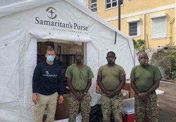 RBDF assists Good Samaritan's Purse