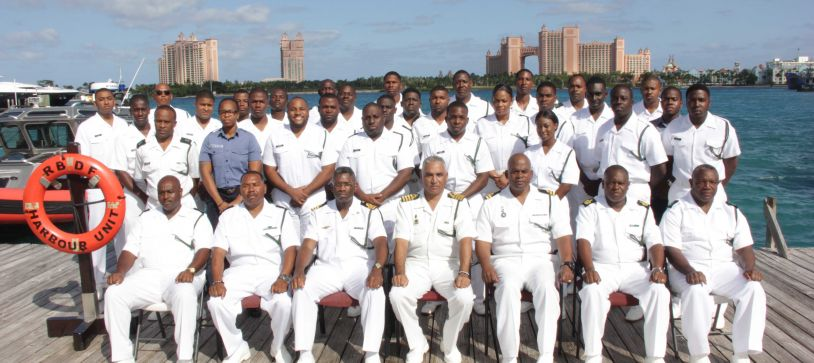 RBDF Marines complete Boat Handling Course