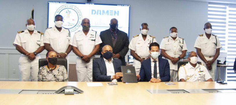 RBDF enters Long-Term Service Agreement with Damen Shipyards