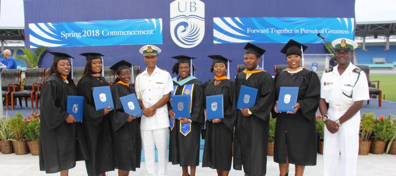 RBDF Personnel Graduate from University of The Bahamas