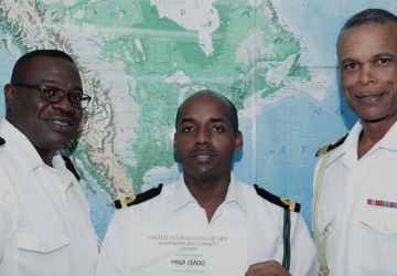 RBDF Officer completes Overseas Training