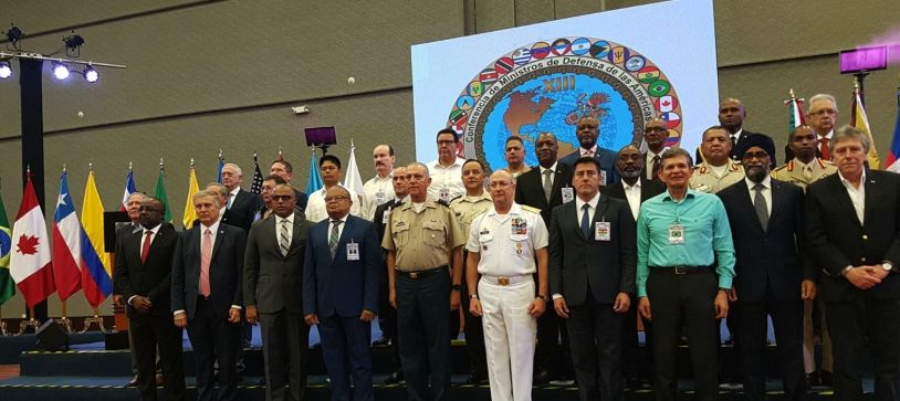 MINISTER DAMES, MINISTER OF NATIONAL SECURITY, ATTENDS THE XIII CONFERENCE OF DEFENSE MINISTERS OF THE AMERICAS CANCUN, MEXICO, 7th – 10th OCTOBER, 2018