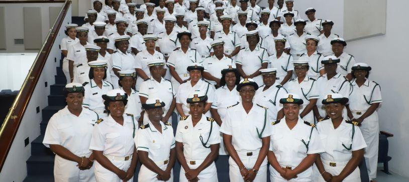RBDF Females Observe International Women's Day