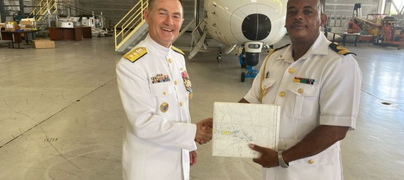 Commander Defence Force attends Change of Command Ceremony