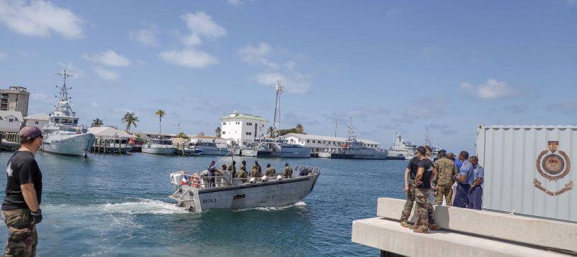 RBDF Commando Squadron Conduct Maritime Training Exercise
