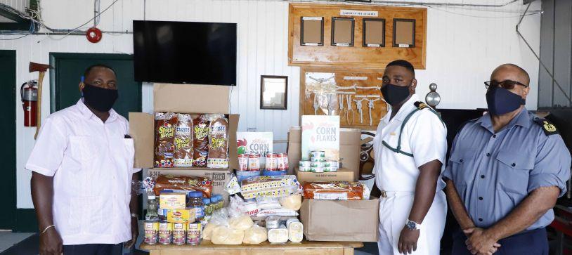 RBDF Harbour Patrol Unit Makes Charitable Donation