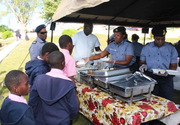 RBDF Supply Department Reaches out to Community