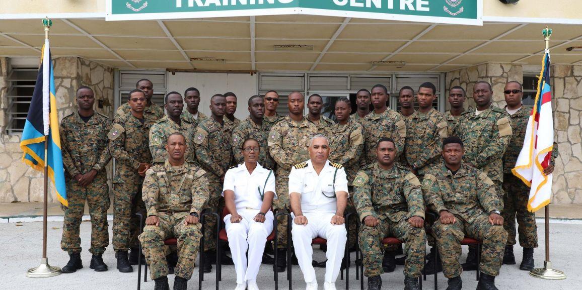 RBDF Marines Graduate from Close Range Combative System Training