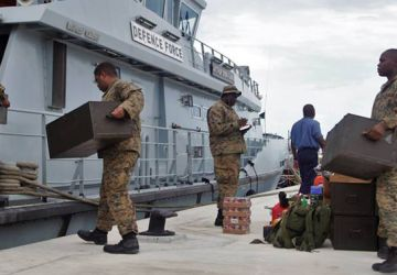DEFENCE FORCE ENGAGED IN HURRICANE RECOVERY EFFORTS