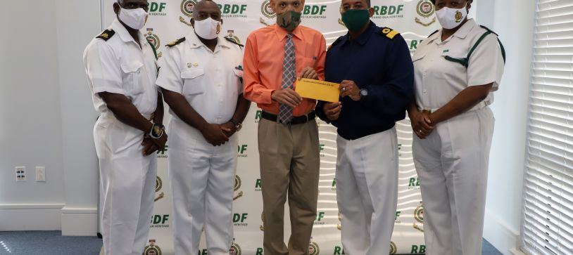 RBDF assists Comrade with Medical Assistance