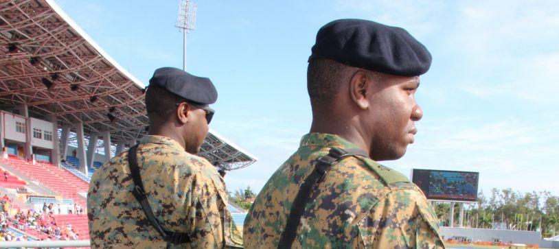 RBDF lends support to CARIFTA Games