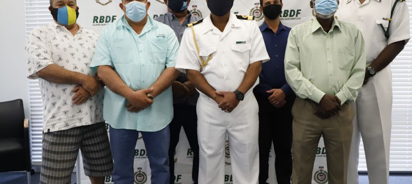 Commander Defence Force meets with National Fisheries Association
