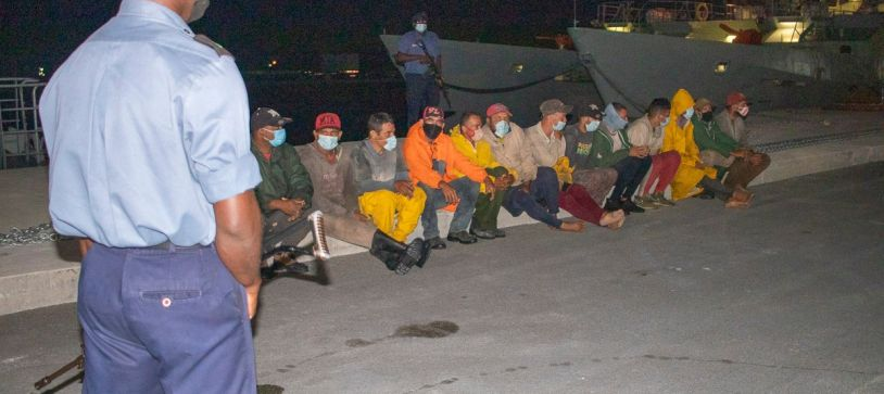RBDF Apprehends Cuban Nationals