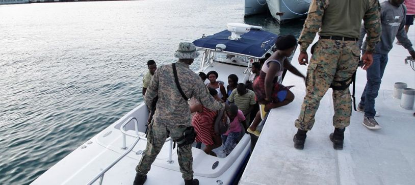 Haitian Migrants apprehended in the Exumas