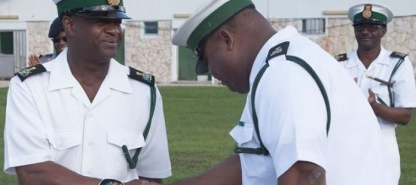 The Royal Bahamas Defence Force Salutes Warrant Officer for 33 Years of Dedicated Service