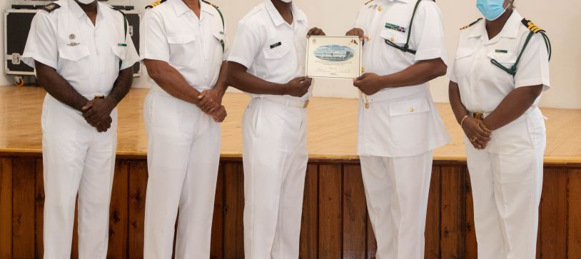 RBDF Personnel complete Crisis and Disaster Management Course