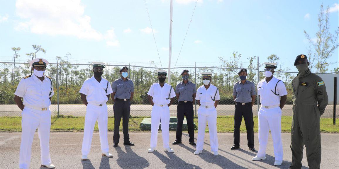 Newly Certified RBDF Air Crewmen and Aircraft Mechanic